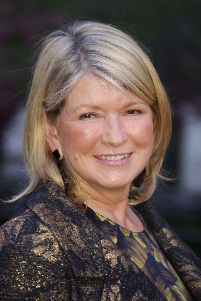 Martha Stewart en la fiesta de Vanity Fair