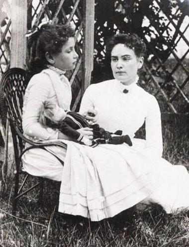 Anne Sullivan instructora de Helen Keller