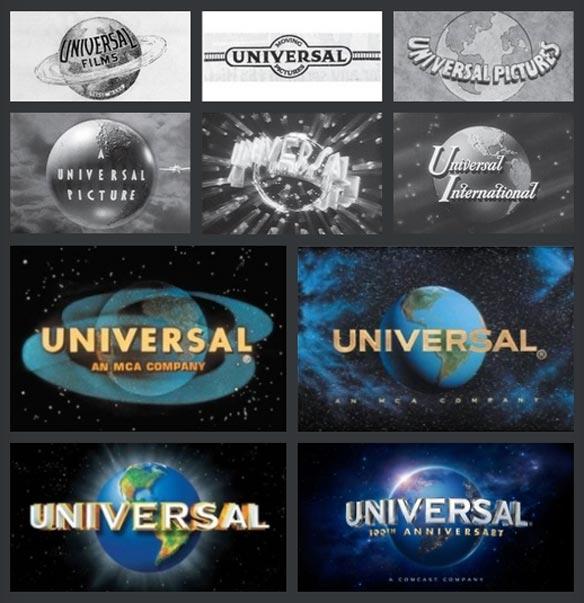 Historia del logo de Universal Pictures