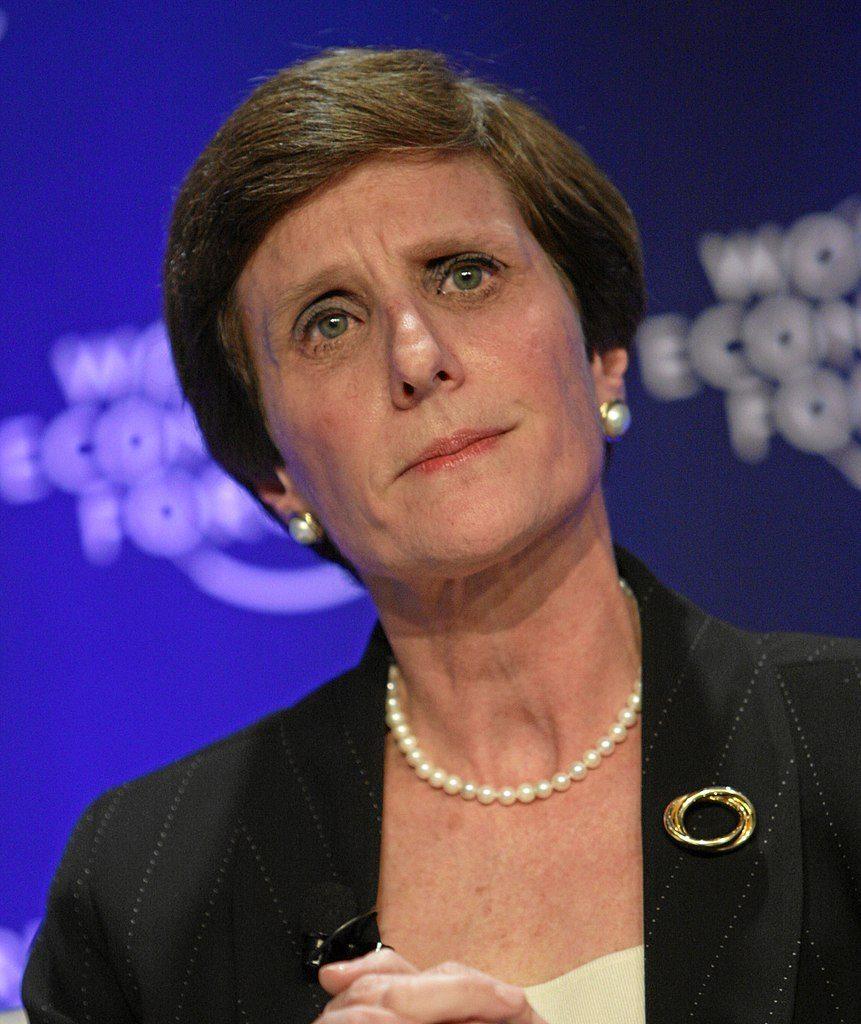 irene rosenfeld en una reunion del foro economico mundial