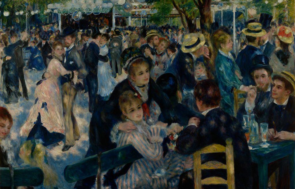 Baile en el Moulin de la Galette | Pierre-Auguste Renoir