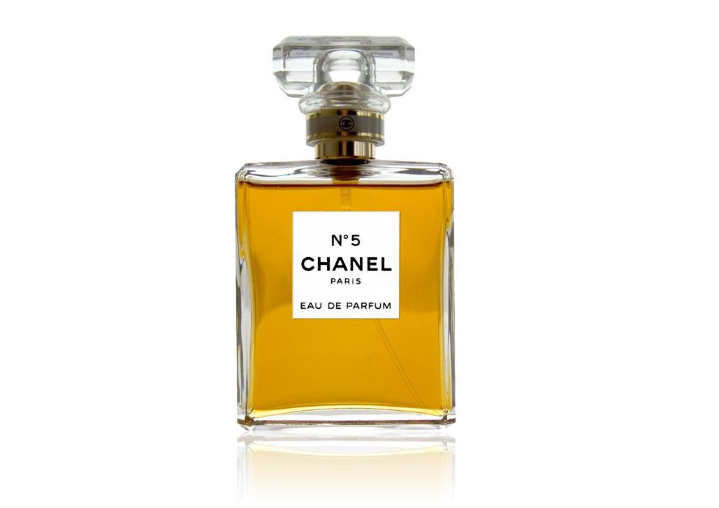 Frasco de Chanel N°5