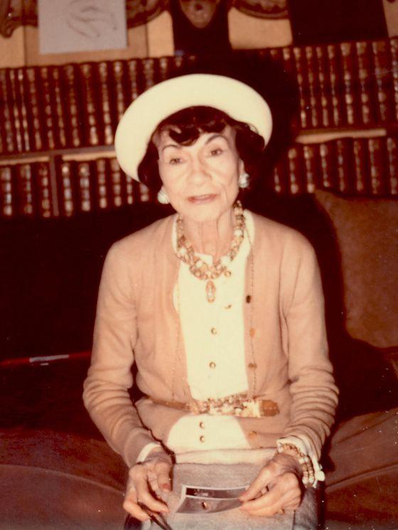 Coco Chanel en 1970