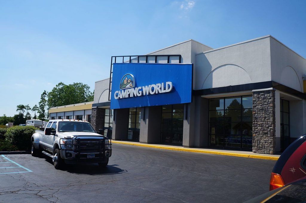 Concesionario de Camping World en Belleville, Michigan