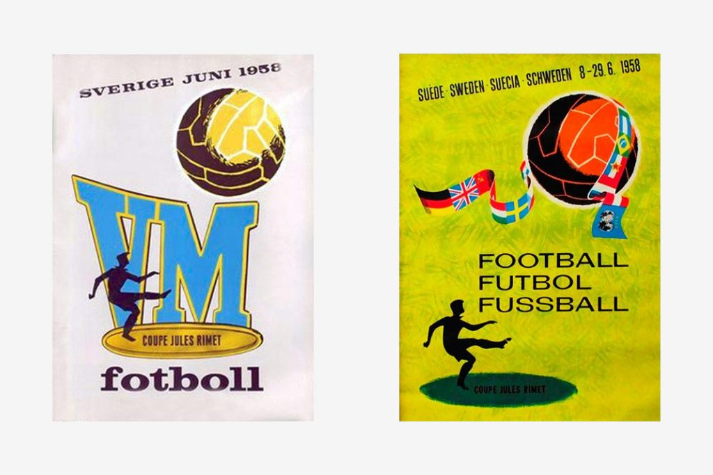 Carteles del Mundial de Suecia 1958