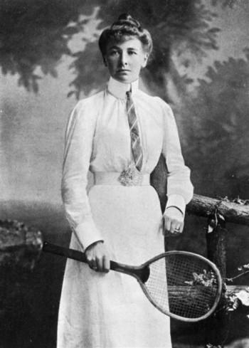 Charlotte Cooper, primera mujer medallista | Vía: wikipedia.org