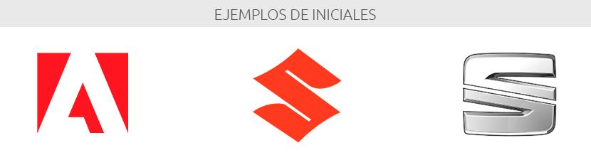 Ejemplos de iniciales, isotipos, logos