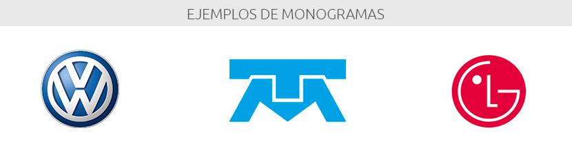 Ejemplos de monogramas