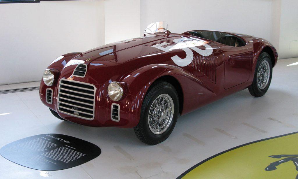 Modelo Ferrari 125S