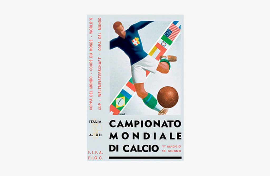 Poster del Mundial de fútbol