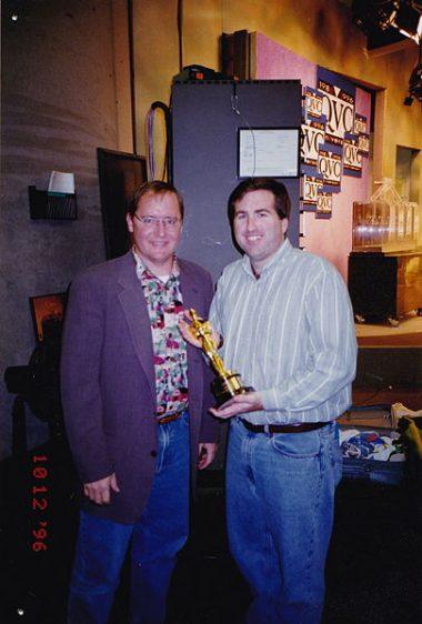 John Lasseter y Jim Breslin