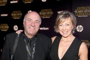 Kevin O'Leary y esposa