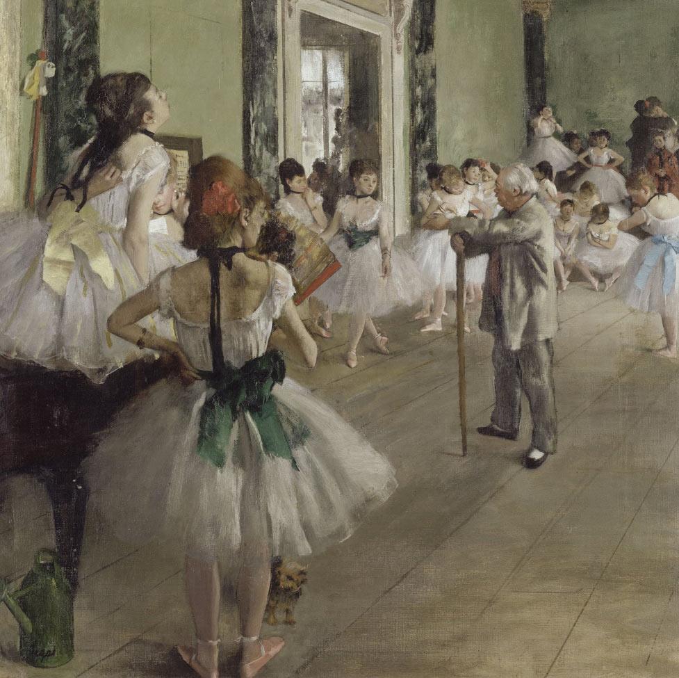 La clase de ballet | Edgar Degas