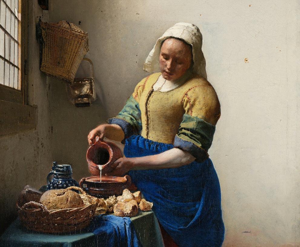 La lechera | Johannes Vermeer