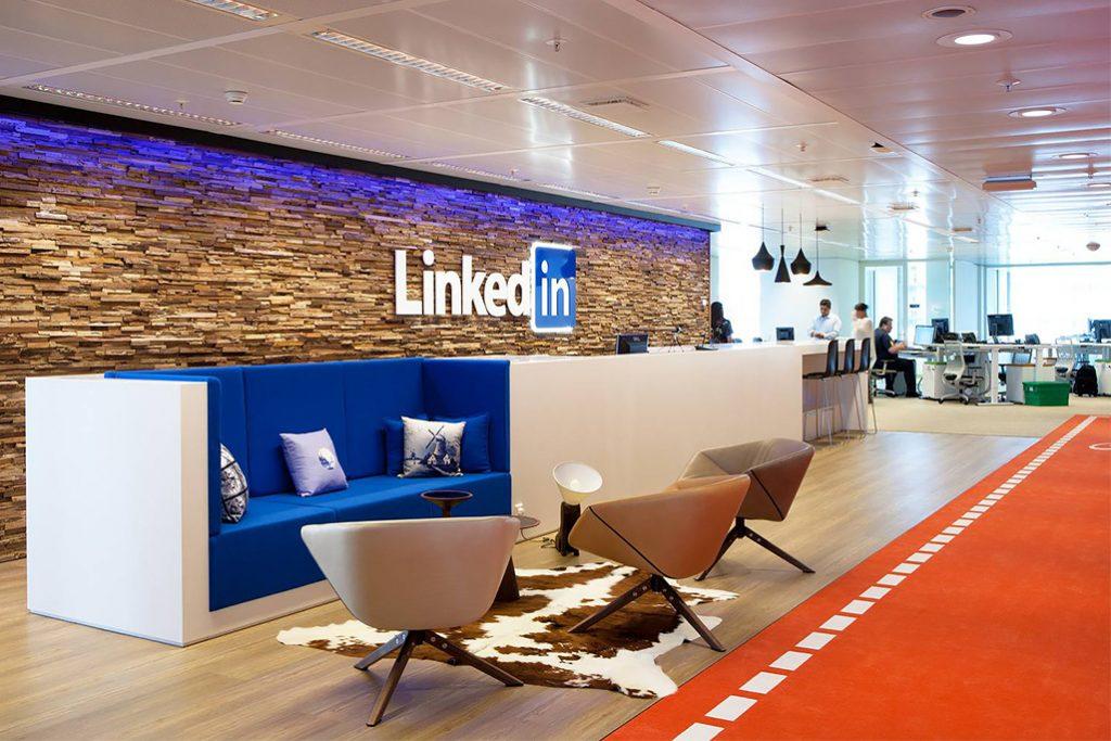 Oficina de LinkedIn en la ciudad de Bengaluru