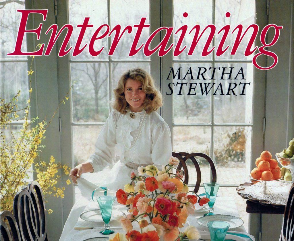 Portada del primer libro de Martha Stewart