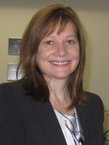 Mary Barra en 2014