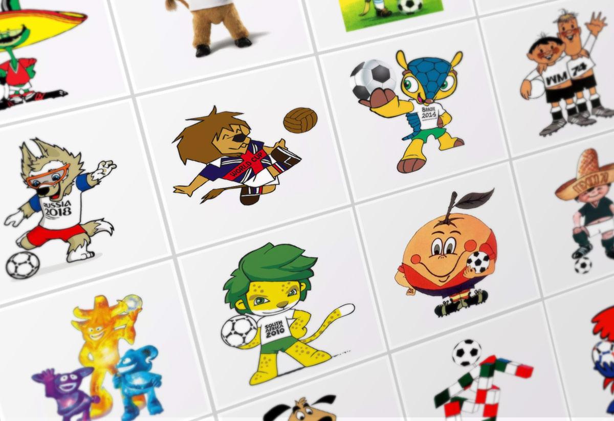 Galería Con Todas Las Mascotas Del Mundial De Fútbol Desde 1966