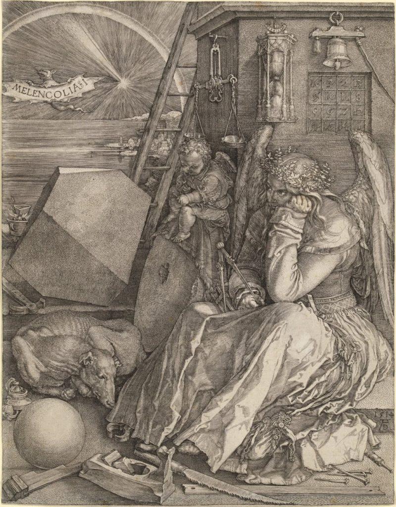 Melancolía | Albrecht Dürer