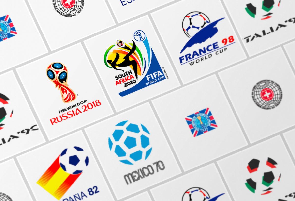 Todos los logos del Mundial de Fútbol desde sus inicios a la ... e5d79c942ac64