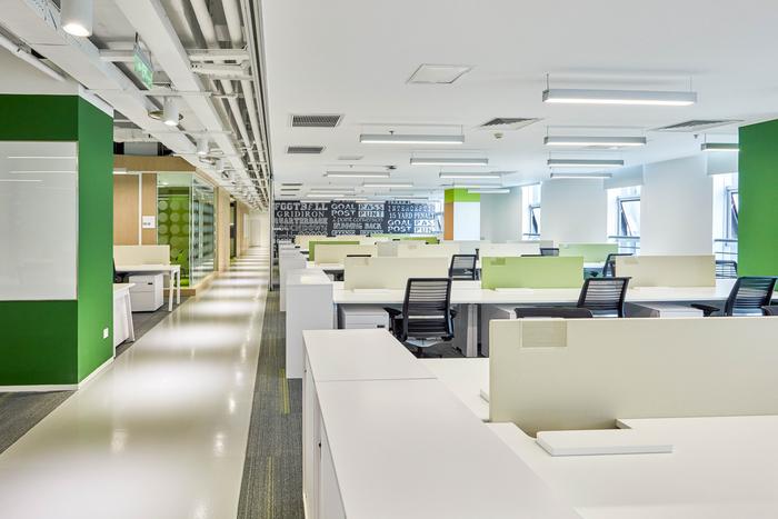 Otra mirada de las oficinas de SAP en Chino
