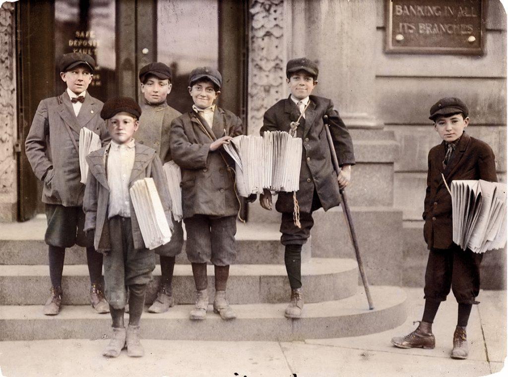 Paperboys en el siglo XX