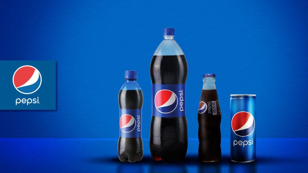 Presentaciones modernas de Pepsi