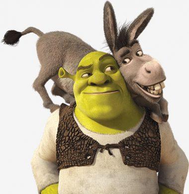 Shrek y Burro