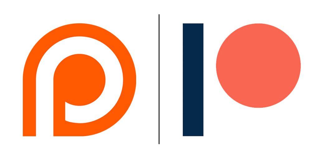 Dos logos de Patreon