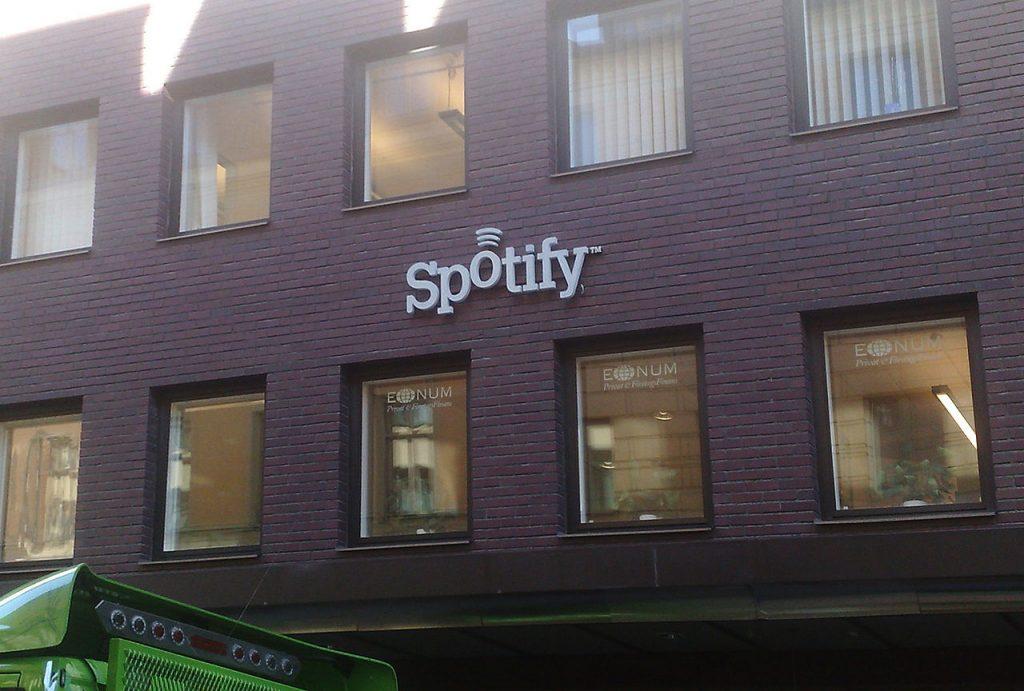 Sede principal de Spotify en Estocolmo