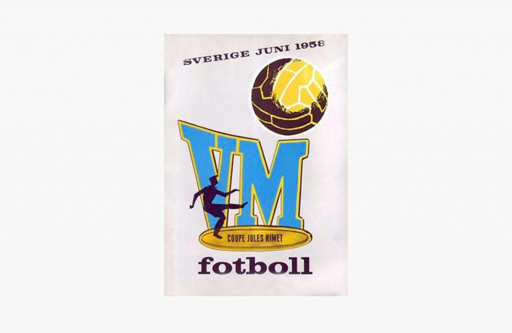 Cartel del Mundial de fútbol