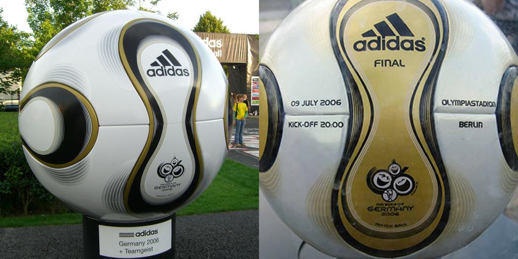 Balón de Adidas +Teamgeist versión normal y especial