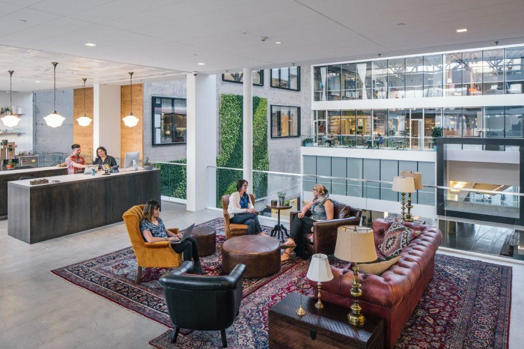 Oficinas de la sede principal de Airbnb en la ciudad de San Francisco