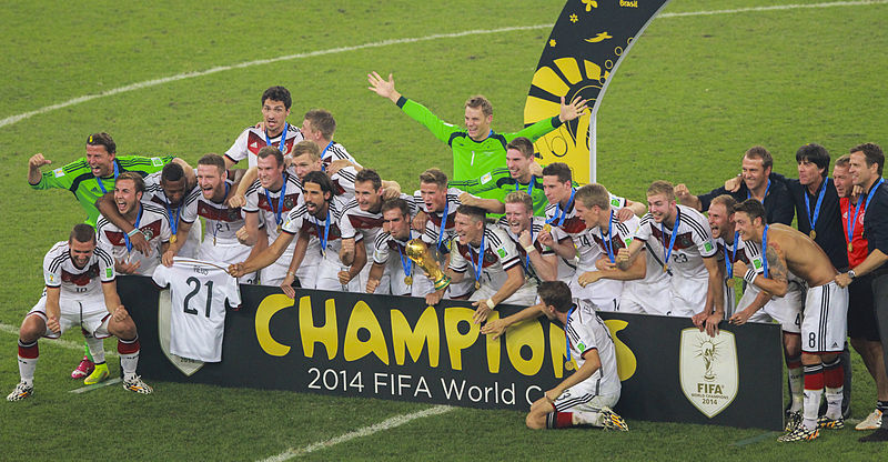 Alemania campeón del mundo en 2014