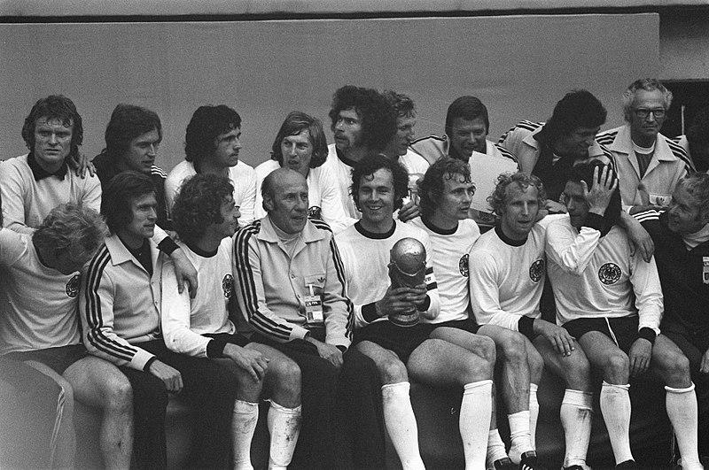 Selección alemana en 1974