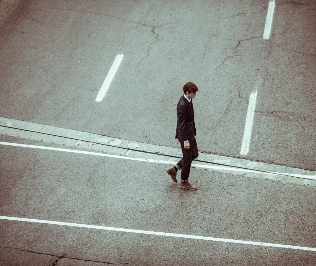 Empresario solitario