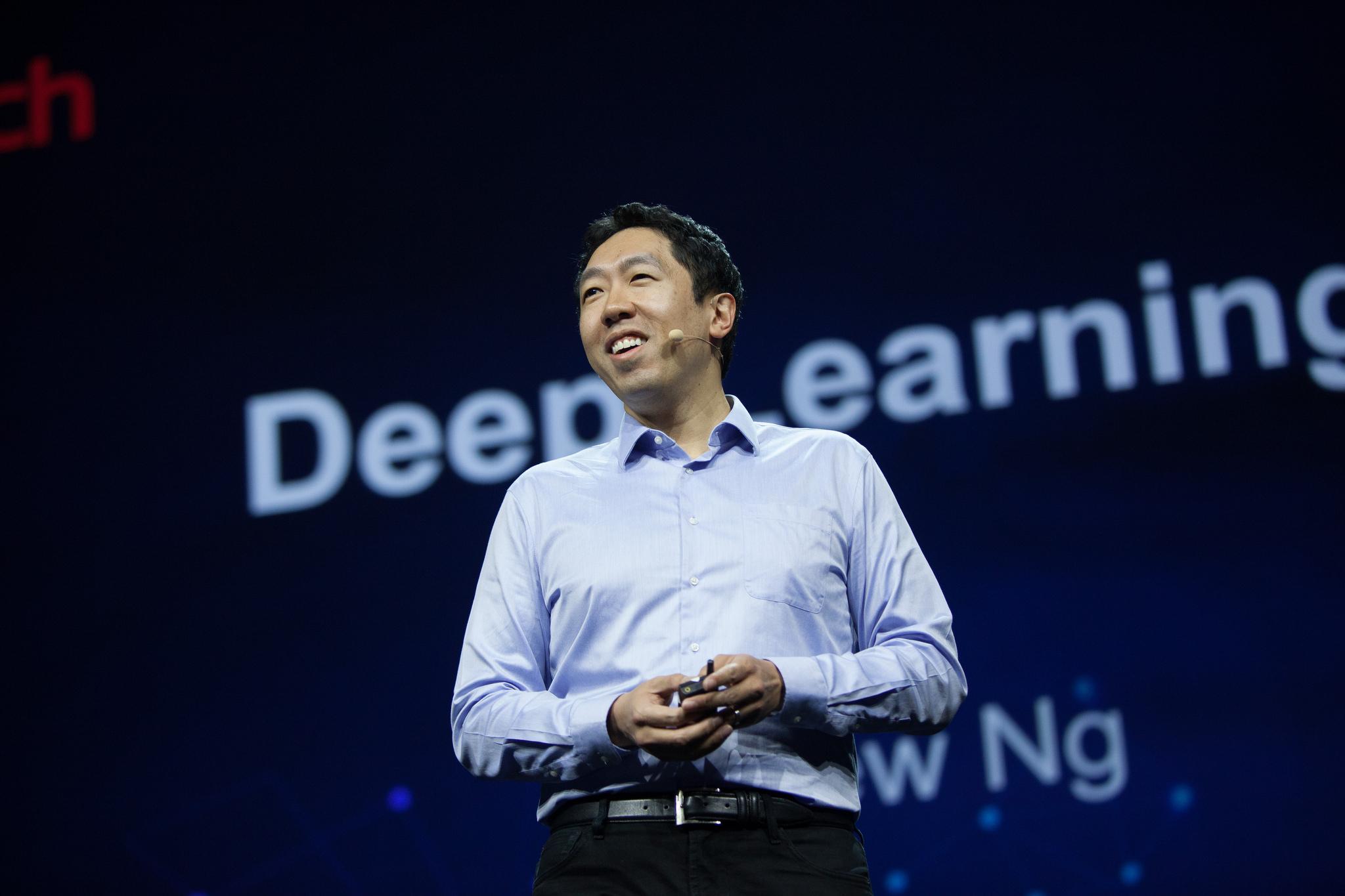 Andrew Ng profesor de Stanford y cofundador de Coursera