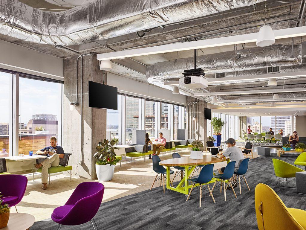Oficinas de Atlassian en los Headquarters de la empresa en Sydney