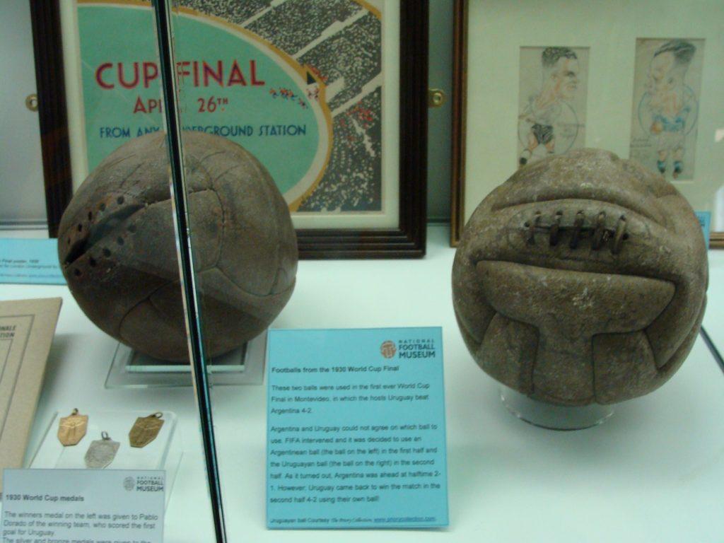 Balones de la final de Uruguay 1930