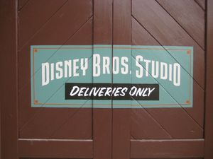 Primer logo de Disney