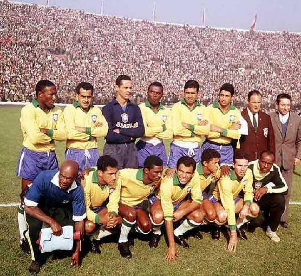 Selección de fútbol de Brasil 1962
