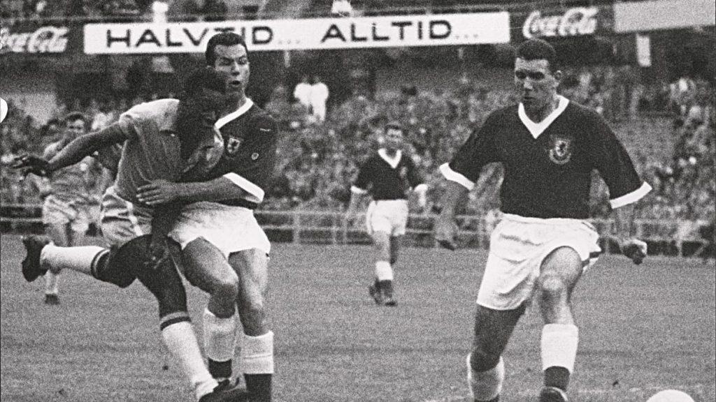 Brasil y Suecia en 1958