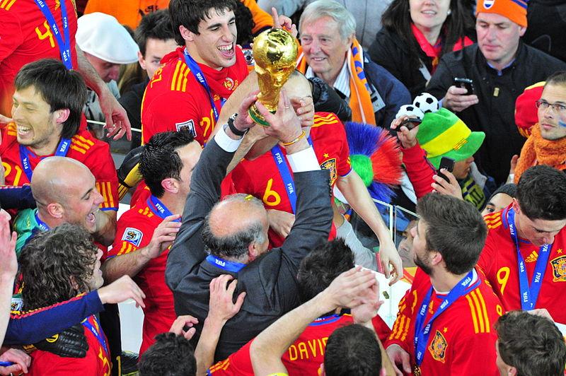 Selección de España en Sudáfrica 2010