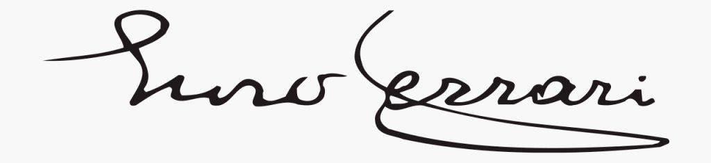 Firma de Enzo Ferrari