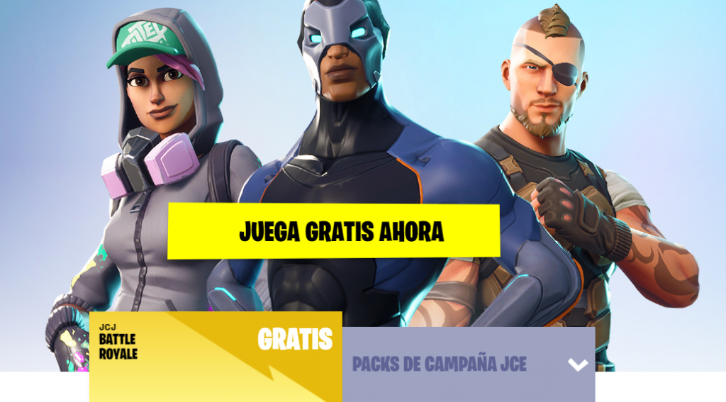 Fortnite Battle Royale gratis