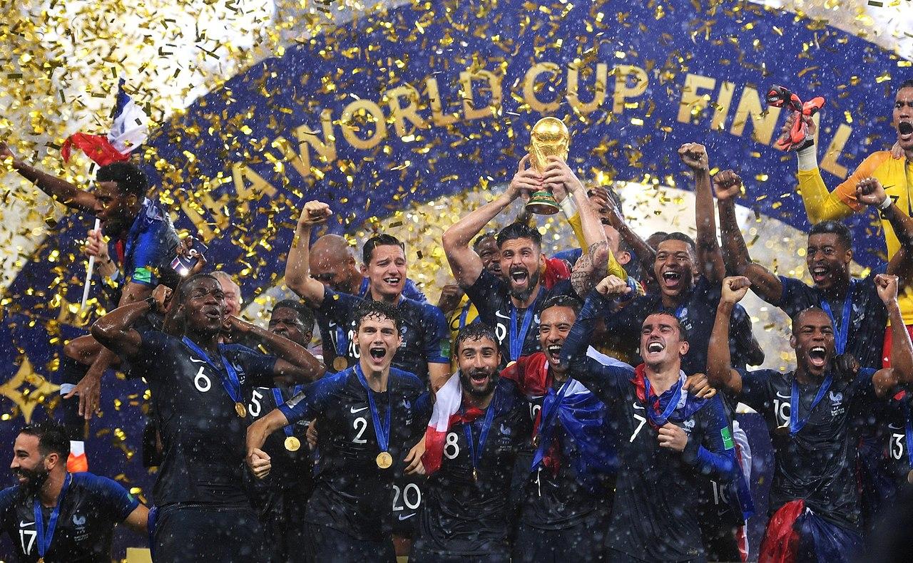 Selección de Francia campeona del mundo en Rusia 2018