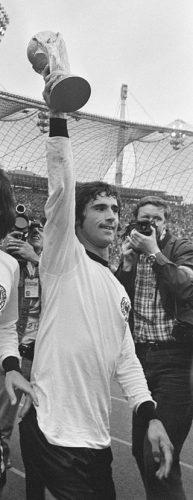Gerd Müller en 1974