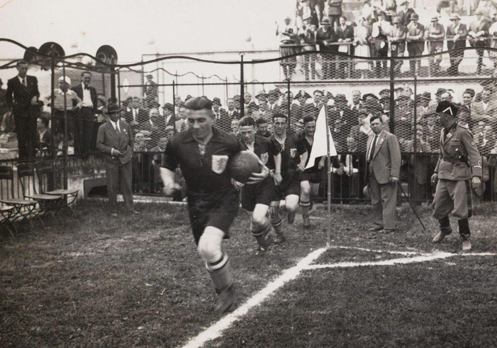 Holanda contra Suiza, en el Mundial de 1934