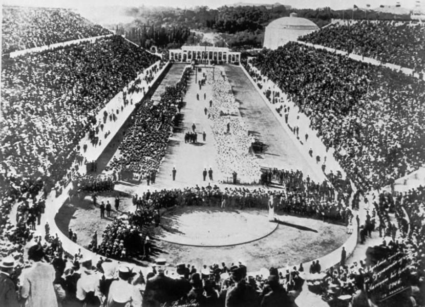 Inauguración primeros Juegos Olímpicos modernos Grecia 1896 | Vía: imgur.com