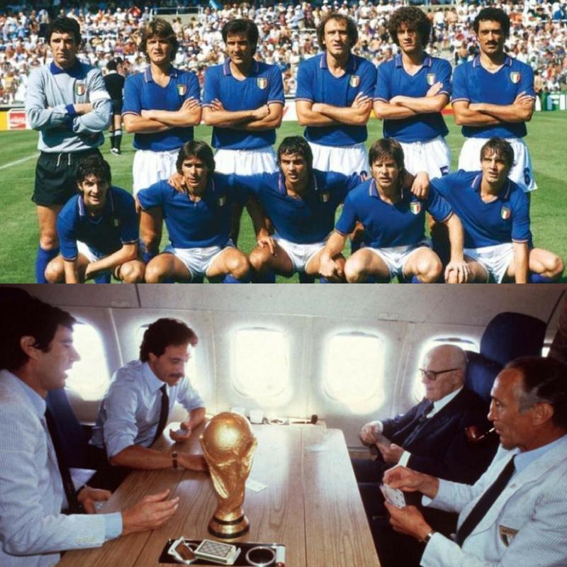 Italia en la Copa Mundial de Futbol en 1982